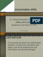 Communication Skills 1