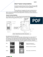 AMD Athlon Processor System Cooling Guidelines
