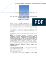 Almeida, Proteção Contra a Dispensa Arbitrária