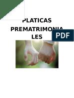 Platicas Prematrimoniales