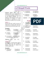 Misspell Words
