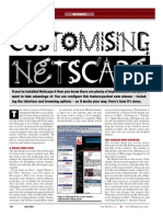 Customising Netscape 6