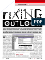 Fixing Outlook Files