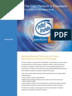 Intel Pentium 4 Processor