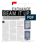 PDA Data Exchange