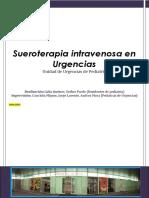 Sueroterapia Intravenosa en Urgencias