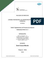 TRABAJO FINAL Diseño Organizacional