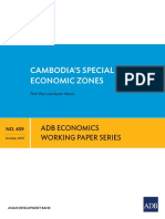 Cambodias´s Special Economic Zones