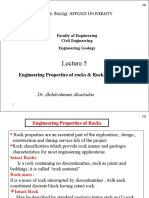 5 EG- CE- Engineering Properties of Rocks PRT.pps