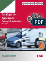 Rolamento FAG Aplicações 2010