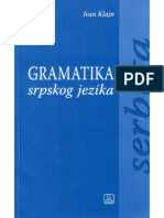 Gramatika Srspkog Jezika Za Strance