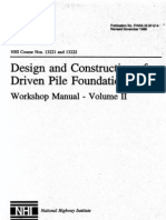 Design and Construction Driven Pile Foundation Vol 2