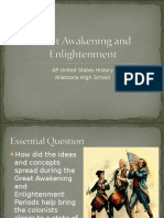 great awakening and enlightenment  2