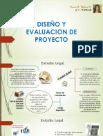 Diseño y Evaluacion de Proyecto