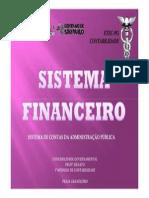 Trabalho sobre Sistema Financeiro (Sistema de Contas Admisnistração Pública Brasileira)
