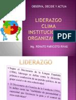 22liderazgo y Clima 2007
