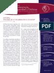 BOLETIN DEMOCRACIA SEGURIDAD Y DEFENSA DE LA PONTIFICIA UNIVERSIDAD CATÓLICA DEL ECUADOR No. 66