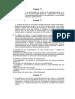 Correção Dos Exercícios Do Manual Da Página 70 à 78