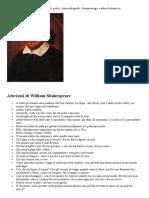 Shakespeare Aforismi