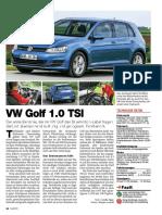 VW Golf Tsi Bluemotion - Test