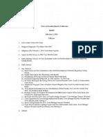 Feb 2016 Franklin Aldermen Press Packet