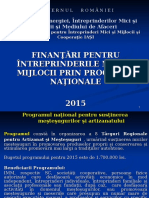Prezentare Programe 2015