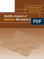 Stability Analysis of Nonlinear Microwave Circuits