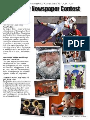 2014-2015 Better Newspaper Contest Winners   Newspapers   Sports
