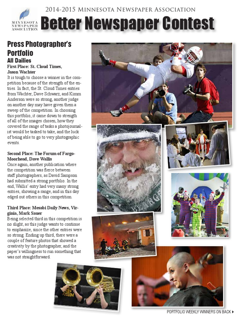 2012 2013 Better Newspaper Contest Winners Book