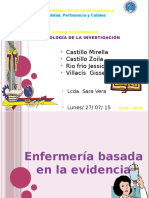 Enfermeriabasadaenlaevidencia EBE