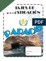 Separata Paracas. Viaje de Investigacion