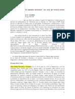 Carta Dirigida a Los Españolesamericanos