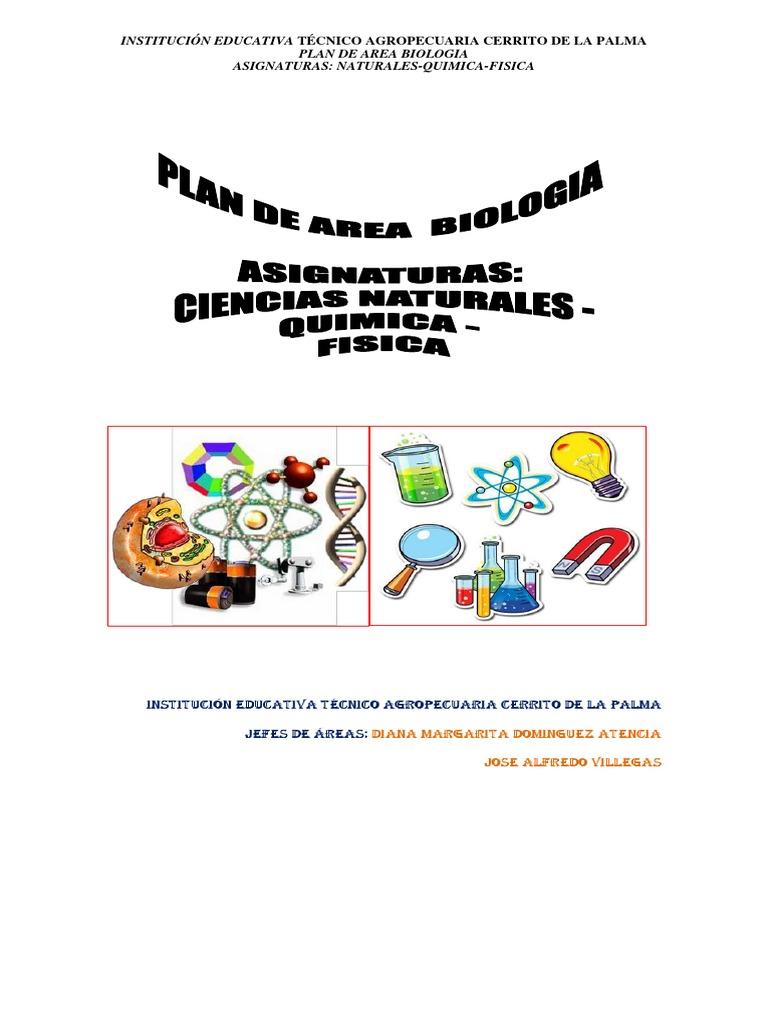Plan de Area Biologia Actualizado 2015