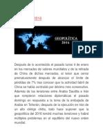 Geopolítica 2016