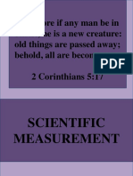 2. Scientific Measurement