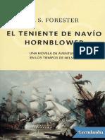 El Teniente de Navio Hornblower - C S Forester