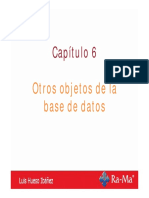 Bases_asir_cap6 Otros Objetos de La Base de Datos Luis Hueso Ibáñez