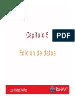 Bases_asir_cap5 Edición de Datos Luis Hueso Ibáñez
