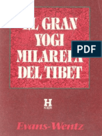 El Gran Yogi Milarepa Del Tibet (Trad. Evans Wentz)