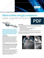 Steam Turbine Gas Compressor Brochure Power