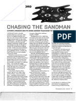chasing the sandman my word the big issue 409 june 19 2012