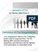 Suppression of Fire3
