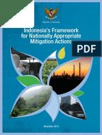 Indonesia's Framework for NAMAs_2013