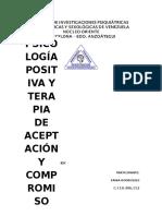Tania Trabajo de Psicología Positiva y Terapia de Aceptación y Compromiso (Autoguardado)