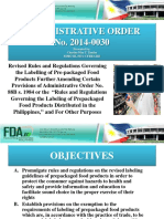 Updates on Food Labelling-PAFT Presentation-21 Feb