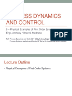 05- Physical Examples of First Order Systems