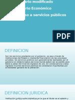 Acceso a Servicios Publicos
