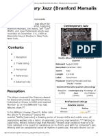 Contemporary Jazz (Branford Marsalis Album) - Wikipedia, The Free Encyclopedia