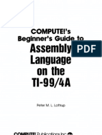 COMPUTE!'s Beginner's Guide to Assembly Language on the TI-99/4A
