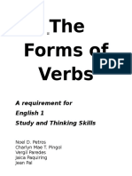 The Forms of Verbs
